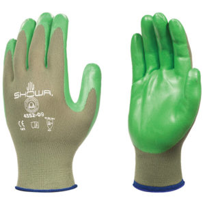 12 Pair Orange SHOWA 707HVO 12 Disposable Biodegradable Chemical Resistant Glove X-Small